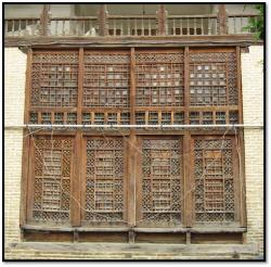 پاورپوینت شناخت و بررسی گره چینی چوبی در بناهای تاریخی گرگان