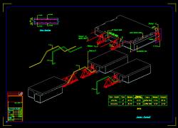 دانلود نقشه اتوکد جزییات اجرایی سقف بیرچه بلوک